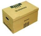Archívna krabica hnedá 522x351x305mm