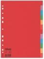 Rozraďovač kartónový farebný 12-dielny Esselte